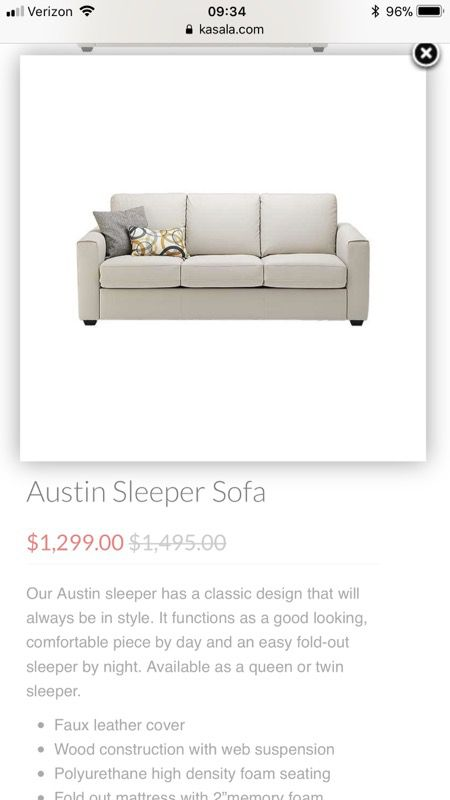 Sleeper Sofa Pull Out Couch For