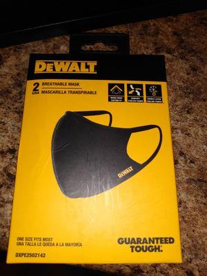 Dewalt 2 Breathable mask brand new for Sale in Winter Springs, FL