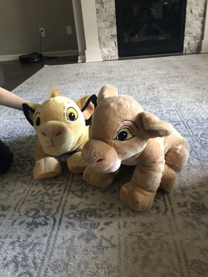 Stuffed animals from lion king for Sale in Gresham, OR
