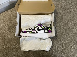 Air Force 1 custom Ghost Bape Men's size 11 Brand new never worn w/ shirts for Sale in Cleveland, OH