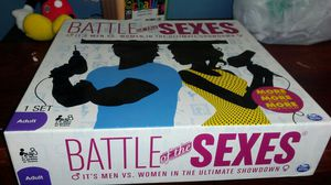 Battle of the sexes board game for Sale in Joliet, IL