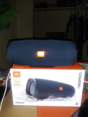 Jbl charge 4.Im taking to pawnshop.if no buy. for Sale in San Diego, CA