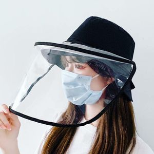 Removable face shield bucket hat (Black) for Sale in PA, US