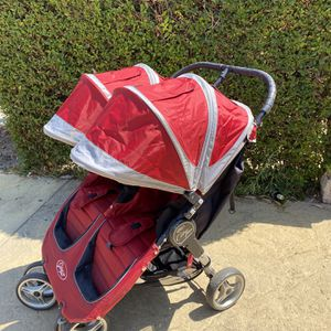 Baby Jogger City Mini Double Foldable Stroller for Sale in Diamond Bar, CA