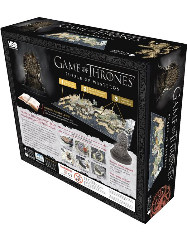Game of Thrones 1400+ Puzzle of Westeros