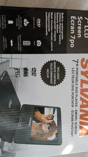 """Sylvania 7"""" Portable DVD PLAYER for Sale in Carol Stream, IL"""