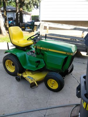 John Deere 210 tractor,with Kohler motor,4 speed trans for Sale in Lombard, IL