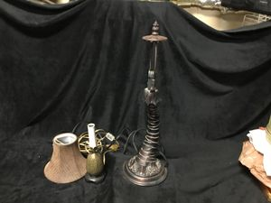 Lamps, Palm tree and Pineapple for Sale in Yelm, WA