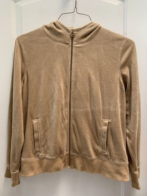 Michael Kors velour hooded zip jacket for Sale in Punta Gorda, FL