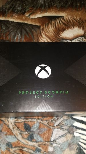Xbox One Project Scorpio for Sale in Ontario, CA