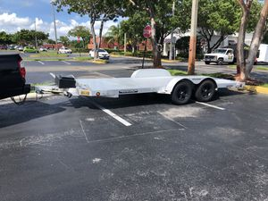 Aluminum Car Hauler Trailer Aluma Brand for Sale in Hollywood, FL