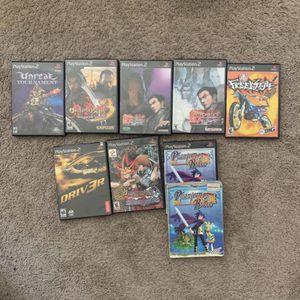 PS2 Game Lot for Sale in Mountlake Terrace, WA