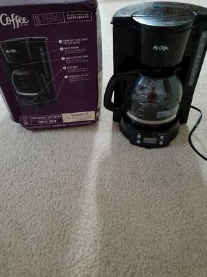 Mr. Coffee. 12 cup Programmable Coffee Maker for Sale in Aldie, VA