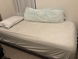 Adjustable Bed Frame with Twin XL mattress for Sale in Aubrey, TX