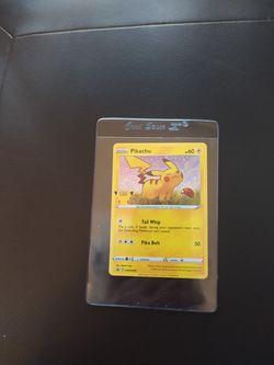 Pokemon Pikachu Holo 25th Anniversary Stamped. General Mills. SWSH039 for Sale in Redmond,  WA