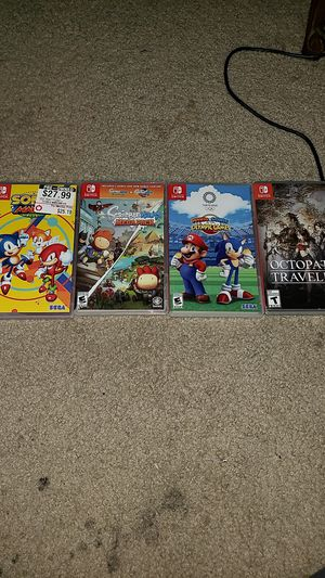 Nintendo switch games 30 each for Sale in Swansea, IL