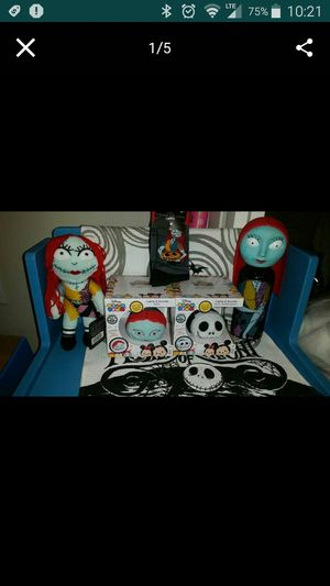 Bundle of Nightmare Before Christmas Collectable Item's! (READ POST). for Sale in Round Rock, TX