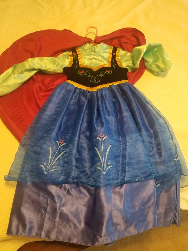 Frozen Anna Dress and Cape