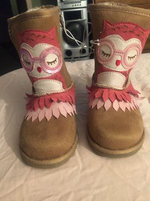 Toddler Owl Boots for Sale in Orange, CA