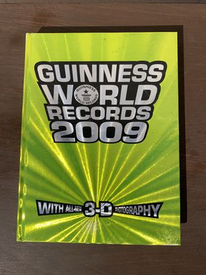 Guinness world records 2009 with 3-D for Sale in Gardena, CA