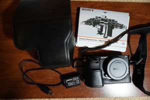A6000 Body and a few extras for Sale in Seattle, WA