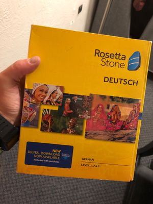 German Rosetta Stone- never used for Sale in Colorado Springs, CO