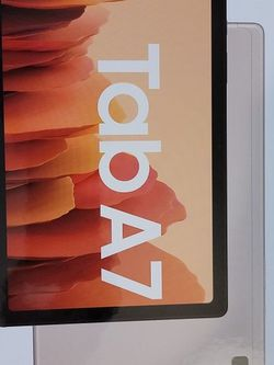 Samsung Tab A7 Gold 64 GB Brand New for Sale in Seattle,  WA