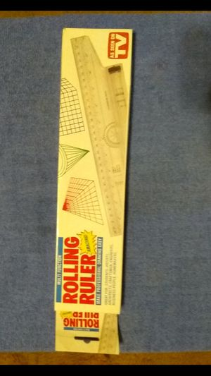 """""""Rolling Ruler"""" multi-function mechanical drawing tool for Sale in San Antonio, TX"""