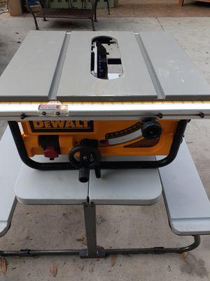 Dewalt Table Saw for Sale in Ruskin, FL