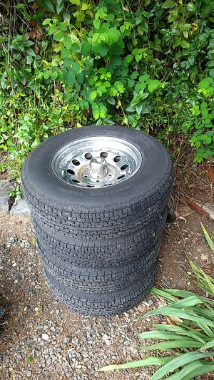 4 X 5 lug trailer tires and wheels for Sale in Poulsbo, WA