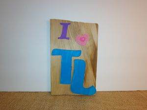 I love Torch Lake wood sign for Sale in Alden, MI