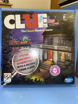 Clue Classic Family Board Game for Sale in Portland, OR