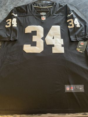 Raiders Jackson Throwback Stitched Jersey (L) $60 for Sale in Redlands, CA