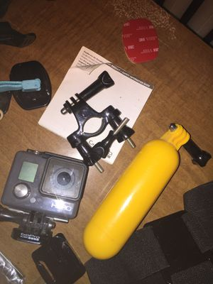 GoPro Go Pro Hero with a lot of accessories mounts for Sale in Forest Park, IL