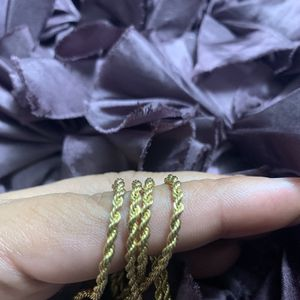 2.5mm Rope Chain Necklace 20 Inc for Sale in Raleigh, NC