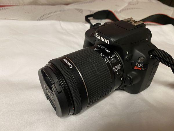 Canon EOS Rebel SL1 camera package