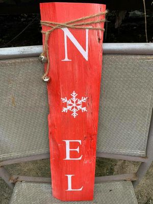 Rustc handmade Christmas sign for Sale in Lake Charles, LA