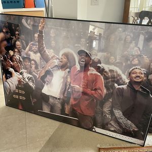 "Large Framed Picture Poster. 60""x40"" Kanye West, Kid Cudi, G.O.O.D Music Family for Sale in Port St. Lucie, FL"