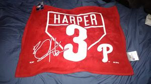 PHILADELPHIA PHILLIES BRYCE HARPER TOWEL for Sale in Fairless Hills, PA