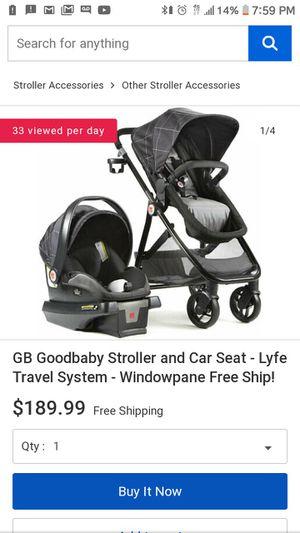 GB stroller & Car seat new for Sale in Tulsa, OK