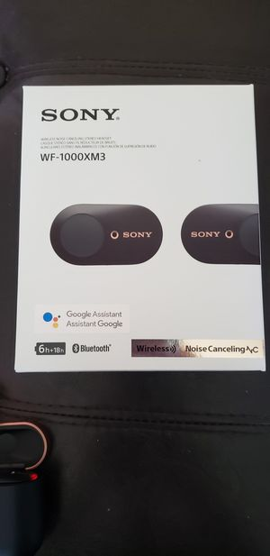 Sony WF1000X3 Wireless Earbuds for Sale in Hillsboro, OR