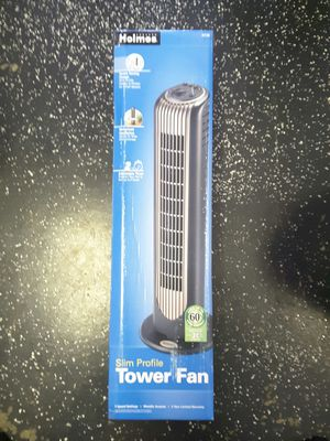 Slim Profile Tower Fan for Sale in East Los Angeles, CA