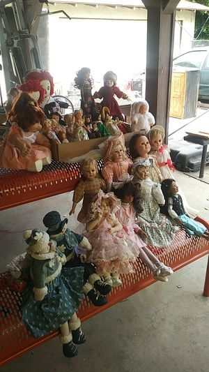 Beanie baby , Marie Osmoind, American Beauty, Raggedy Ann and Andy, Cabbage patch. for Sale in El Monte, CA