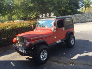 Antique Jeep Wrangler 1987. Mint Condition for Sale in Atlanta, GA