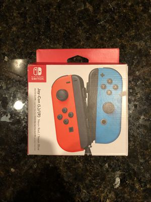Nintendo Switch Joycon blue and red for Sale in Chicago, IL