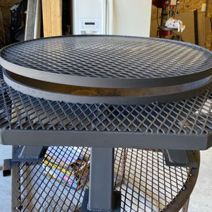 Custom Fire Pit With BBQ Ring for Sale in Adkins, TX