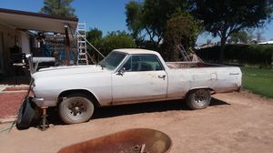1965 el camino with title would run with replace carb for Sale in Glendale, AZ
