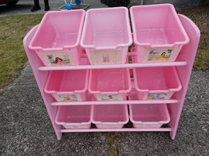 Disney Toy Storage Bins for Sale in Columbia, SC