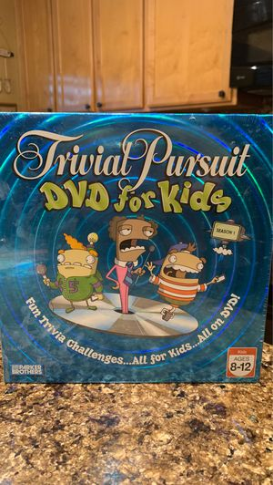Trivial Pursuit DVD game for kids for Sale in Gilbert, AZ