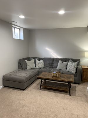 Gray Sectional Couch for Sale in Hampstead, MD